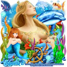 "MI RINCÓN GÓTICO: CT for Daniela E, ""The mermaids ""."