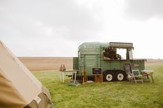 Every wedding and event needs a bar! Love Duck and Pheasant's beautifully restored rice horse trailer fully licensed mobile bar.    Another photo from The Cambridge Tipi Company Autumn Wedding Open Day.    Photography: Craig Williams Photography.     More photos and full details of suppliers involved can be found on my website.