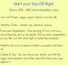 Start Your Day Off Right #HolidayDetox - Learn to build a healthy breakfast that will be tasty and satisfy you.