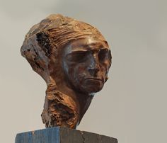 escultura en madera stephan erzia - Buscar con Google Sculpture Art, Buddha, Statue, Russia, Portraits, Google, Shape, Sculptures, Wood
