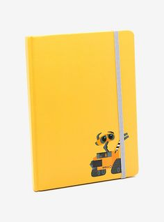 Disney Pixar Wall-E Yellow Journal,