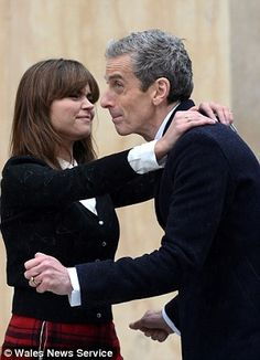 Just a thought.....why is the Doctor wearing what looks like a wedding ring....?
