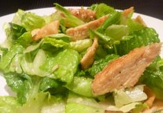 asian sesame chicken salad. this was actually REALLY good! And I was not expecting much