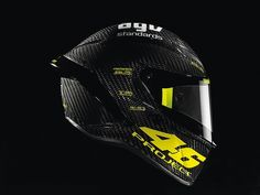 Rossi's new lid. AGV PistaGP.