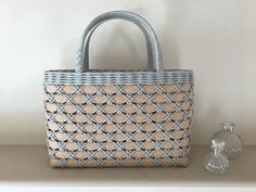 Basket Weaving Patterns, Paper Weaving, Craft Bags, Basket Bag, Summer Bags, Cloth Bags, Leather Craft, Handicraft, Purses