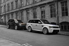 #TheFastLane ... His & Hers Range Rovers