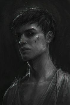 Dishonored - The Outsider, mongrel by Eneada on DeviantArt Dark Fantasy Art, Fantasy Artwork, Dark Art, Fantasy Demon, Die Outsider, Character Inspiration, Character Art, Dishonored 2, Vampire Stories