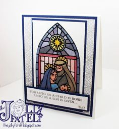 Gentle Peace Stained Glass by thejollyfatelf - Cards and Paper Crafts at Splitcoaststampers