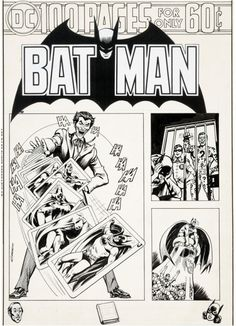 100 pages for only 60 cents!Original and final cover art by... 100 pages for only 60 cents!  Original and final cover art by Nick Cardy from Batman #260 published by DC Comics January 1975.