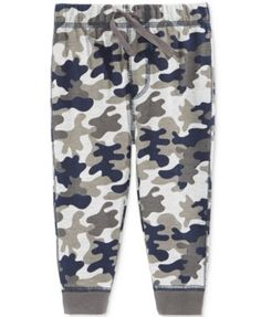 b16997a37 First Impressions Camo-Print Jogger Pants, Baby Boys (0-24 months), Only at  Macy's & Reviews - Leggings & Pants - Kids - Macy's
