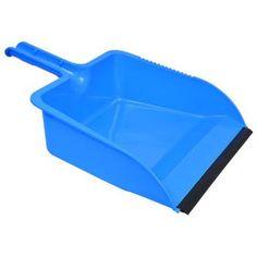 "Scrub Buddies Blue Plastic Dust Pan, 12"""