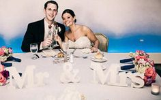 Ideia de mesa dos noivos para minha festa de bodas