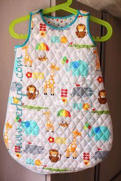 sleeping bag patterns (doll, premature, 6, 18, 24months)