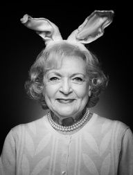 Betty White, my favorite Golden Girl :)