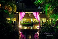 entrance lawn side wedding decoration bamboo;