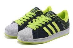 Adidas Superstar Shoes Green White Milk Studios, Adidas Official, Superstars Shoes, White P, Jeremy Scott, Adidas Superstar, White Shoes, Shoe Sale, Adidas Originals