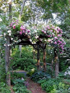 Romantic Fairytale Garden Fine Gardening Faith is taking the first step even when you dont see the whole staircase MLKJr A cottage garden can incorporate quirky or funny.