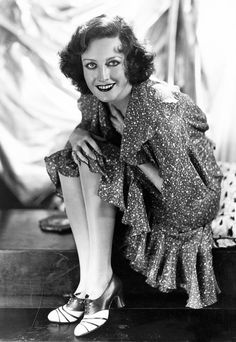 Joan Crawford photographed by George Hurrell, 1930