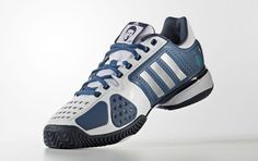 Novak Djokovic switched from adidas to Sergio Tacchini in 2009 (and then signed with Uniqlo in but he still has a shoe contract with the German brand. Uniqlo, Style Me, Adidas Sneakers, Footwear, Rocks, Shoes, Clothing, Fashion, Tennis