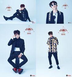 unveil four individual jacket images for debut Band Group, Jacket Images, Love K, Kim Jin, Block B, Korean Music, Vixx, Mamamoo, Girls Generation