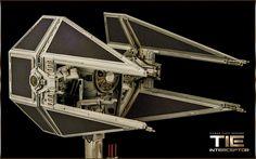 TIE Interceptor | Fine Molds 1/72 TIE Interceptor with custo… | Flickr