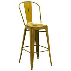 Flash Furniture 30-inch High Distressed Indoor Barstool