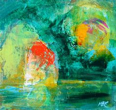 Daily Painters Abstract Gallery: Mi Casa, Modern, Contemporary, Colorful Abstract Painting, Original Art by Elizabeth Chapman Abstract Art Images, Colorful Abstract Art, Watercolor Paintings Abstract, Abstract Canvas Art, Art And Illustration, Green Art, Angel Art, Original Art, Daily Painters