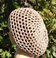 #Crochet Openwork Beanie pattern