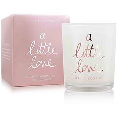 Katie Loxton a Little Love Rose Gold Candle ($23) ❤ liked on Polyvore featuring home, home decor, candles & candleholders, rose gold home accessories, rose gold candles, scented candles, rose gold home decor and fragrance candles