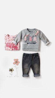 #Bóboli #AW15 New Collection #BlueAndRoses #kidswear #baby
