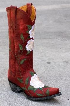 Old Gringo Patsy Boots in Red