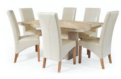 awesome extending cream dining table picture