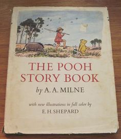 The Pooh Story Book 1965 A.A. Milne E.H. Shepard - vintage children's book