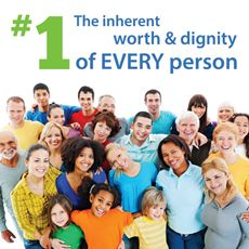 1st Principle: The Inherent Worth and Dignity of Every Person