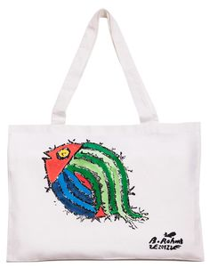 Bedri Rahmi Fish Tote Bag