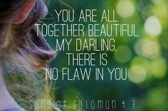 Song of Solomon God First, You're Beautiful, Solomon, Bible Quotes, Songs, Movie Posters, Film Poster, Bible Scripture Quotes, Song Books