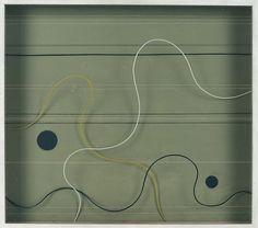 Paule Vézelay - Lines in Space No.57