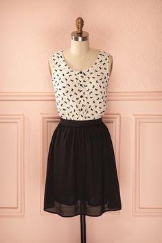 #Smyle Votre look Smyle, la robe Micah, à retrouver sur http://1861.ca/products/micah