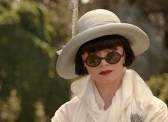 The marvelous Miss Phryne Fisher from 3rd season ep 'Game, Set & Murder'. Miss Fisher's Murder Mysteries.