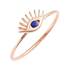 Tai Jewelry Rose Gold Ring