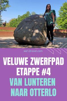 Een verslag (blog en vlog) van etappe 4 van het Veluwe Zwerfpad van Lunteren naar Otterlo. Inclusief een bezoek aan het 'Middelpunt van Nederland' en het prachtige Wekeromse Zand. Veel lees-, kijk- en luisterplezier! #wandelen #veluwe #veluwezwerfpad #nederland #wanderlust