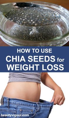 Diet Tips How to use chia seeds for weight loss - Chia seed is a beneficial element to lose weight since it offers fatty acids and a lot of soluble fiber content. Know how to use chia seeds for weight loss. Quick Weight Loss Tips, Weight Loss Help, Losing Weight Tips, Reduce Weight, Weight Loss Plans, Weight Loss Program, How To Lose Weight Fast, Chia Seed Recipes For Weight Loss, Diet Program