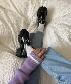 Fall Shoes, New Shoes, Chunky Loafers, Loafers Outfit, Aesthetic Shoes, Trendy Shoes, Autumn Fashion, My Style, Outfits