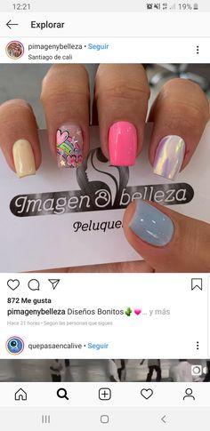 Snails, Short Nails, Beauty Nails, Gel Polish, Manicure, Make Up, Nail Art, Nail Designs, Designed Nails