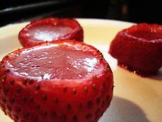 Strawberry Jello Shots Like You Won't Believe! | My Thirty Spot