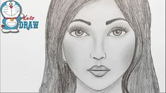 How to draw face for Beginners/ EASY WAY TO DRAW A REALISTIC FACE - YouTube