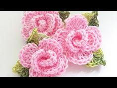 Crochet Flower Applique In 15 Minutes - We Love Crochet