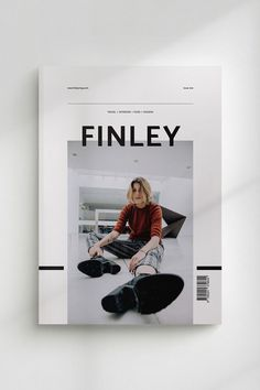 FINLEY Lifestyle Magazine is a minimal, modern template to present your articles and ideas. The layouts have been designed with general lifestyle themes in mind to cover everything from fashion to interiors, music, recipes, travel, profiles/interviews or even photo essays. They are created to be edited easily and can be swapped, changed or combined with little effort to suit a variety of projects.