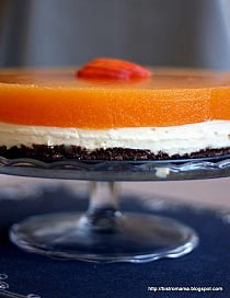 Ciasto z brzoskwiniami i nutellą