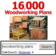 Here is a REVIEW of Teds Woodworking which offers 16,000 plans. http://bit.ly/1VNfUtn